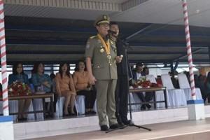 Walikota Bitung ,Maximilliaan J Lomban SE MSi , HUT Sat-Pol PP, Sat-Pol Pp bitung