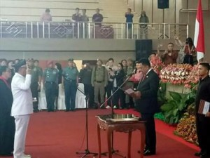 Drs Royke H Mewoh DEA, Penjabat Bupati Minahasa