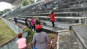 Royke Mewoh , Stadion Maesa Tondano , Paskah Pemuda Internasional 2018