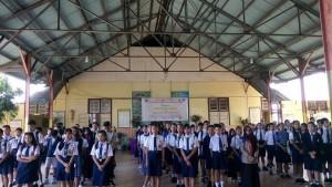Siswa-siswa peserta OSN tingkat SMP Kota Tomohon tahun 2018