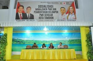 Sosialisasi Manajemen PMR dan Pembentukan Kelompok PMR Sekolah