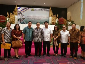 Wali Kota Tomohon bersama jajaran dan Dirjen