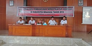 Pembangunan Infrastruktur Pedesaan.Drs Royke H Mewoh DEA, Ricky Laloan SH