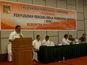 Musrenbang RKPD Minahasa 2019,  Musrenbang RKPD Minahasa