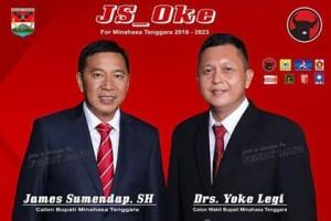 Pilkada Mitra 2018, JS-Oke,  Alfian Tampunu, Partai Perindo, Partai Perindo mitra
