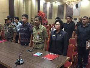 Plt Bupati Ronald Kandoli Lantik Ngongoloy Sekda Definitif Minahasa Tenggara4