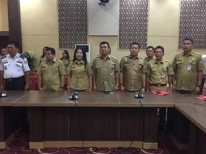 Plt Bupati Ronald Kandoli Lantik Ngongoloy Sekda Definitif Minahasa Tenggara5