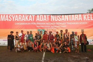 Tokoh Adat se-Nusantara, Komunitas Adat Walak Tombariri,rakernas AMAN v, rakernas aman 2018