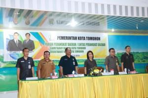 Forum Perangkat Daerah Setda dan Setwan Tomohon