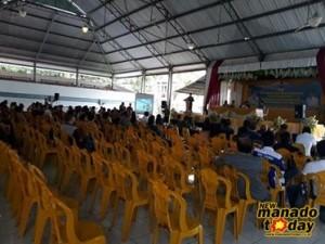 Kursi kosong yang tampak pada kegiatan Musrembang RKPD Kabupaten Minsel