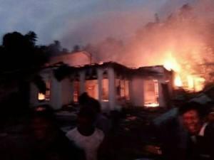 Desa Tolombukan, kebakaran Desa Tolombukan, Yusti Engka