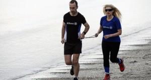Wanita Buta Pecahkan Rekor Dunia Dengan Berlari Sejauh 81,9 Kilo Meter