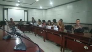 Pertemuan dengan Sekretariat DPRD Kota Tangerang