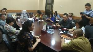 Pimpinan dan Komisi III DPRD Tomohon di Kota Tangerang