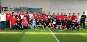 Pemkab Minahasa , AWAM minahasa, futsal,  Drs Royke H Mewoh DEA,