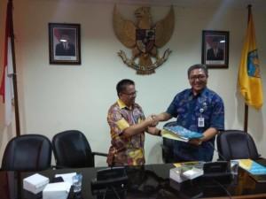 Kepala Badan Keuangan Drs Gerardus Mogi di Provinsi Bali