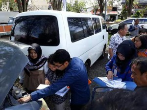 BPK RI Sulut Gelar Uji Petik Kendaraan Dinas Milik Pemkot Manado