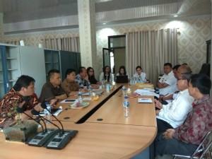 Komisi I DPRD Tomohon Hearing Instansi Terkait Soal Tanah GMAHK