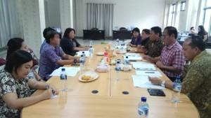 Rapat pembahasan Pansus dengan instansi terkait