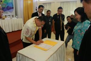 Penandatanganan Pembentukan Kota Layak Anak