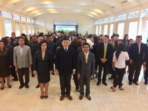 Ketua, Sekretaris, Bendahara dan pengurus  DPD LPM Kota Tomohon