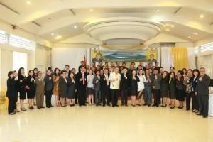 Pengurus LPM yang dilantik bersama Wali Kota Tomohon