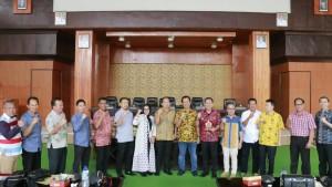 DPRD Kota Lubuklinggau, DPRD Tomohon dan pejabat Pemkot Tomohon