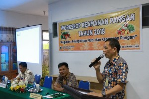 Drs ODS Mandagi membuka kegiatan