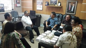 Kunjungan Komisi II DPRD Tomohon di DPRD Purwakarta