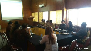 Komisi II DPRD Tomohon mendapat  penjelasan dari Pemkab Purwakarta