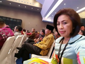 Ketua DPRD Tomohon Ir Miky JL Wenur pada Raker Ketua DPRD dan Bupati-Wali Kota se-Indonesia