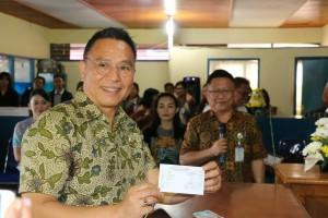 Wali Kota Tomohon Launching Smart PDAM