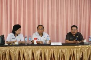 Selkretaris Kota Tomohon dan para asisten