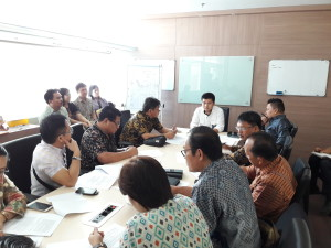Konsultasi di Dirjen Penyediaan Perumahan Kementerian PUPR