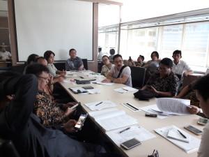 Pansus PSU dan Kadis Perumahan Rakyat dan Kawasan Permukiman di Kementerian PUPR