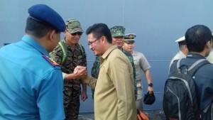 Berkunjung ke Bitung, Delegasi Filipina Bawa Kapal Perang