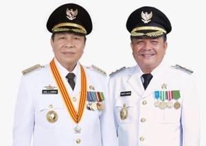 Walikota Bitung Maximilliaan J Lomban SE MSi dan Wakil Walikota Bitung Ir Maurits Mantiri (MaMa)