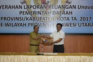 Walikota Bitung ,Maximiliaan J Lomban SE MSi, LKPD TA 2017 , LKPD bitung TA 2017