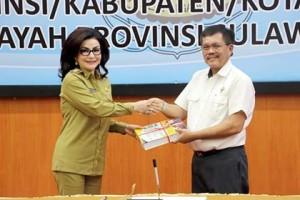 Bupati Minsel Serahkan Laporan Keuangan Unaudited TA 2017 ke BPK