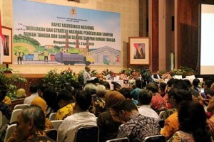 Bupati dan Ketua DPRD Minsel Hadiri Rakornas Jakstranas Pengelolaan Sampah di KLHK