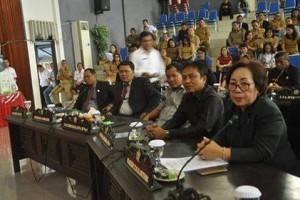 DPRD Kota Bitung Gelar Paripurna Istimewa LKPJ Walikota TA 20174