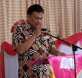 Gubernur Sulawesi Utara Olly Dondokambey SE