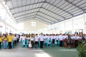 Para hadirin di kegiatan yang dilaksanakan di Anugerah Hall