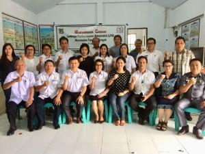 Sandra Solang terpilih Ketua LPM Tomohon Tengah
