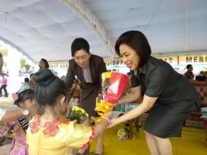Ketua DPRD Tomohon da Kadis Pendidikan dan Kebudayaan Daerah