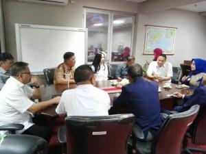 Wali Kota Tomohon didampingi Ketua DPD LPM Sulut dan jajaran Pemkot Tomohon dengan Ketua DPP LPM RI