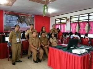 Maurits Mantiri Lapor Pelaksanaan UNBK di Kota Bitung ke Gubernur