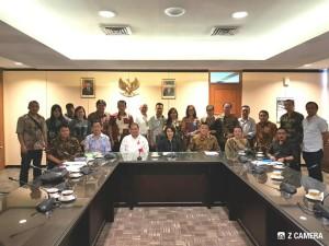 Pansus P3 bersama jajaran Kementerian Dikbud