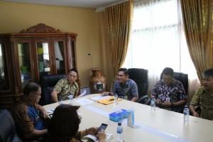 Rapat persiapan peresmian Mal Pelayanan Publik