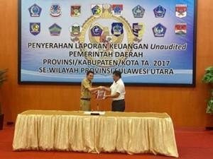 LKPD Unaudited Pemkab Mitra TA 2017, LKPD Unaudited,  Ronald Kandoli,